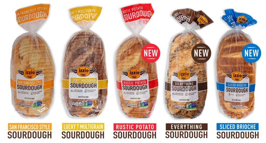 Izzio Sourdough Sliced Bread 24oz